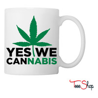 Yes We Cannabis Coffee & Tea Mug