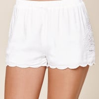 Me To We Laser Cut Soft Shorts at PacSun.com