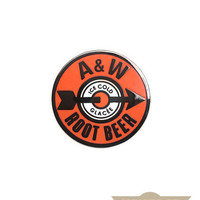 A&W Root Beer Vintage Pin