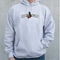 Autumn new products plus cashmere gun hoodie fucking awesome men's sweater
