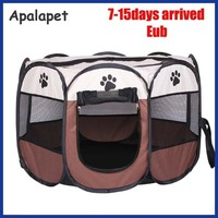 110cmPet Cage Supplies 600D Oxford Dog Carrier Dog Playpen For Dog.