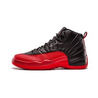 High Quality Nike Air Jordan 12 Men basketball shoes Low Playoff Black ovo white outdoor Sport Shoes New Arrival