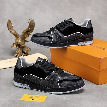 lv louis vuitton womans mens 2020 new fashion casual shoes sneaker sport running shoes 157
