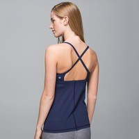 Lululemon Fashion Backless Yoga Sport Vest Tank Top