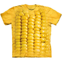 CORN ON THE COB The Mountain Funny Big Giant Ear Of Corn Costume T-Shirt S-3XL