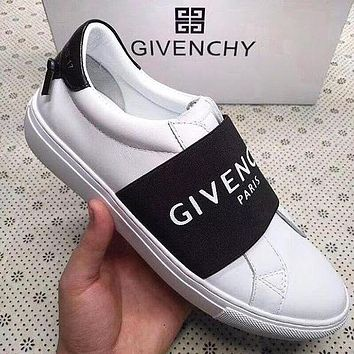 GIVENCHY Trending Women Men Stylish Leather Sport Shoes Sneakers