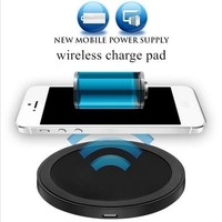 New Arrival Hot Sales Qi Wireless Power Charger Charging Pad for Mobile Phones