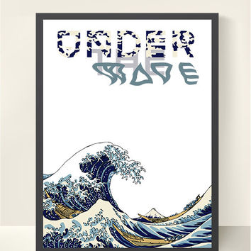 """""""THE GREAT WAVE"""" Art Print"""