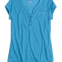 Relaxed Comfy Henley   Girls New Arrivals Features   Shop Justice