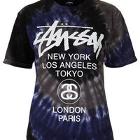 Swirl Tie Dye Tee By Stussy - New In This Week  - New In