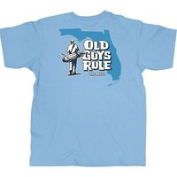 Old Guys Rule Playing Through T-Shirt