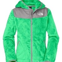 The North Face 'Oso' Hooded Fleece Jacket (Little Girls & Big Girls)