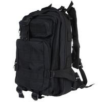 Outdoor Sport Military Tactical Backpack Molle Rucksacks Camping Hiking Trekking Bag H9388B Sports (Color: Black) = 1646037316
