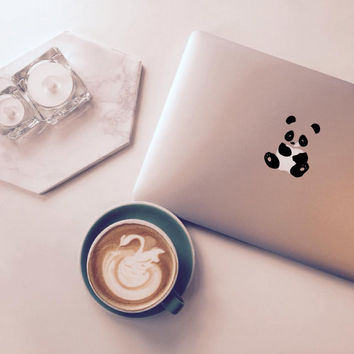 Panda Macbook Decal Stickers Macbook Pro Macbook Pro Decal Macbook Sticker Laptop Sticker Laptop Decals Macbook Stickers