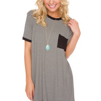 Klover Oversized Stripe Top