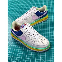 Nike Air Force 1 Low Premium Corduroy Pack Sport Shoes Sneakers - Sale