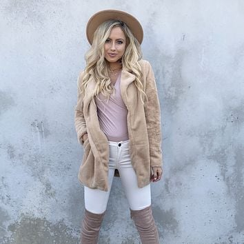 Soft To The Touch Cardigan In Pumpkin Spice