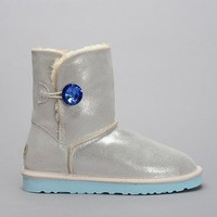 UGG Women Fashion Leather Rhinestone Snow Boots Shoes-1