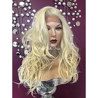 Blond lace front wig | #2 QUEEN ELIZABETH