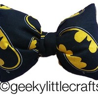 Batman Bow by Geeky Little Crafts