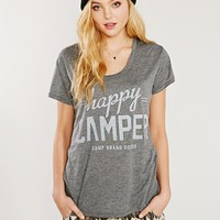 Camp Brand Goods Happy Camper Tee - Urban Outfitters