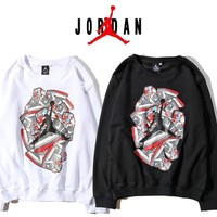 Round-neck Casual Long Sleeve Pullover Hoodies [11532817223]
