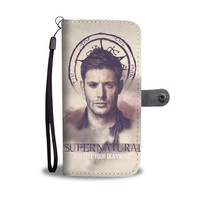 QIYIF Wrestle Your Deanmon Supernatural Wallet Phone Case