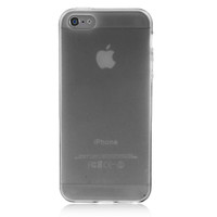 Transparent Solid Color Case For iPhone 5 & 5S