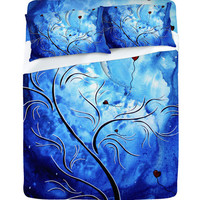 DENY Designs Home Accessories | Madart Inc. Be The Light Of The Moon Sheet Set Sale Item
