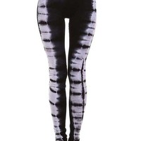 Boho Tie Dye Stretch Leggings
