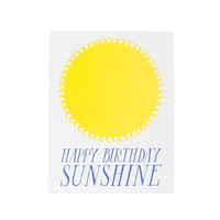 Banquet Atelier & Workshop - Happy Birthday Sunshine