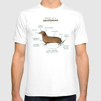 Anatomy of a Dachshund T-shirt by Sophie Corrigan