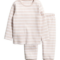 Cotton Jersey Top and Pants - from H&M