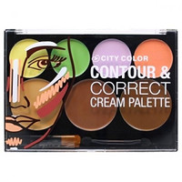 The Contour & Correct Cream Color Makeup Blending Highlighting Cosmetic Palette a Must Have