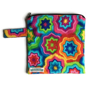 Small Wet Bag for Cloth Diapers, Wet Bag for Cloth Pads, Travel Toiletry Bag, Waterproof Gym Clothes Bag