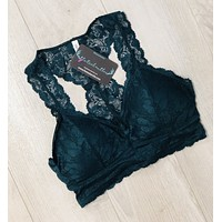 Lace Bralette Padded