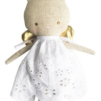 Linen Baby Angel Bunny Silver by Alimrose