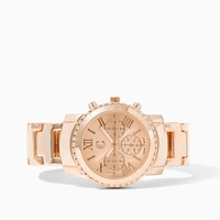 Frozen in Time Chronograph Watch | Jewelry | charming charlie