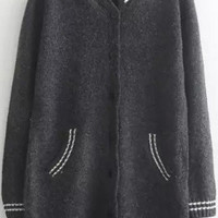 Black Knitted Cardigans