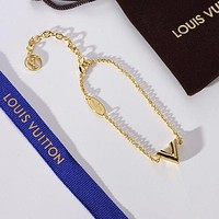 New LV Louis Vuitton Woman Fashion Accessories Fine Jewelry Ring & Chain Necklace & Earrings-2
