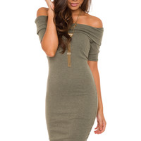 Francie Off the Shoulder Dress