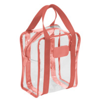 Handmade & Personalized Clear Shag Bag #672 - Jon Hart Design