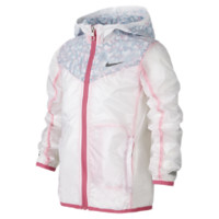 Nike Vapor Preschool Girls' Jacket Size 6X (White)