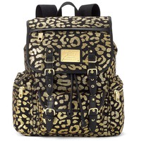 Juicy Couture Lacey Foil Leopard Backpack (Yellow)