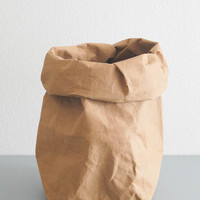 Brown Paper Storage Bag - Large
