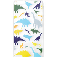 Clear Dinosaur Print Case