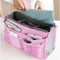 New Fashion New Women Travel Insert Handbag Organiser Purse Large Liner Organizer Tidy Bag Pouch