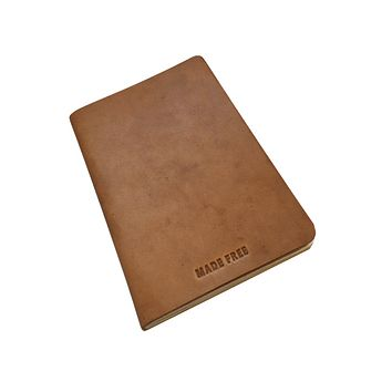 JOURNAL LEATHER CAMEL