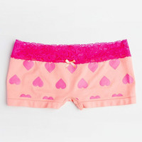 Women Boy Shorts Girls Hot Pants with Lace Panties Knickers Boxers Hipster Panties Bridal Underwear Yoga Workout Fitness Shorts Undies