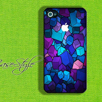 iPhone 4 case, iPhone 4s case, case for iPhone 4, Pattern 006. Black or white.Includes a screen protector for free